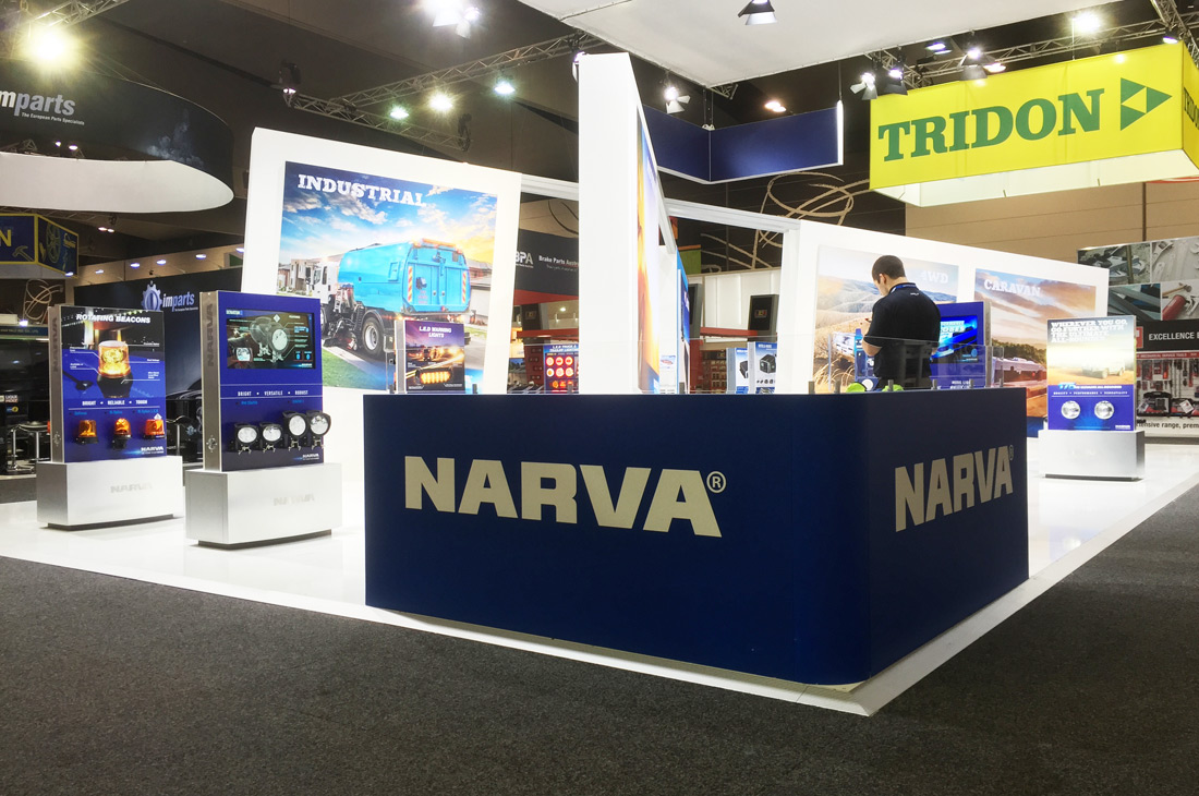 Narva Exhibition Stand