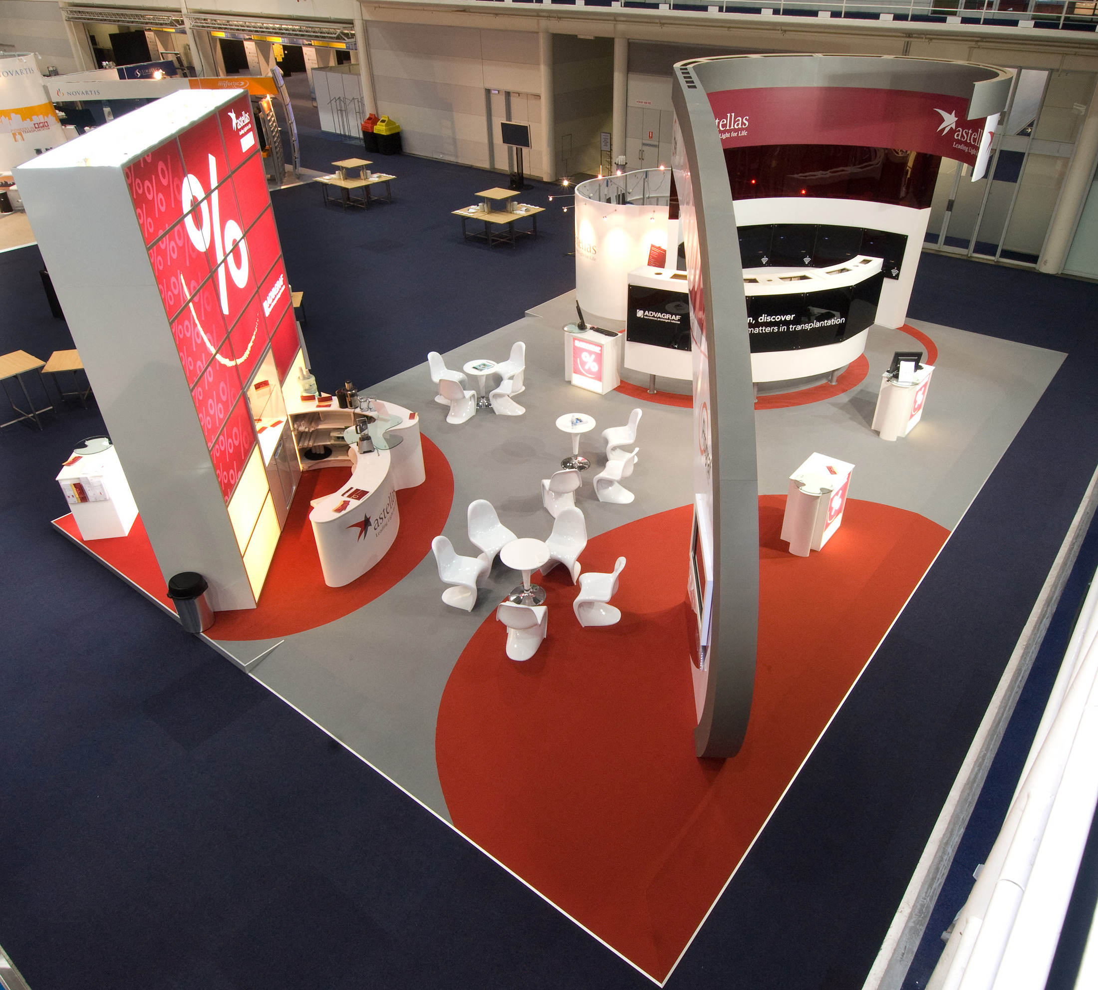 Astellas Exhibition Design